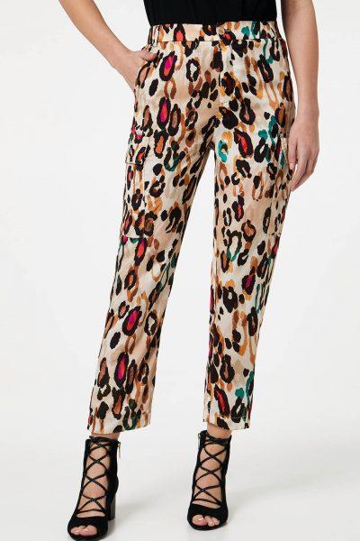 pantalon liu jo léopard