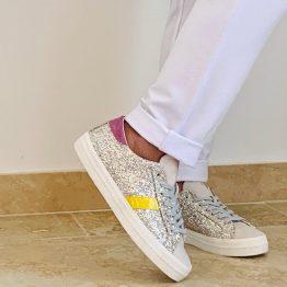 Sneakers DATE paillette