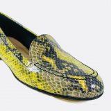 Mocassin cuir python ToscaBlu