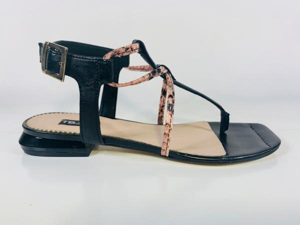 Sandales plates en cuir ToscaBlu