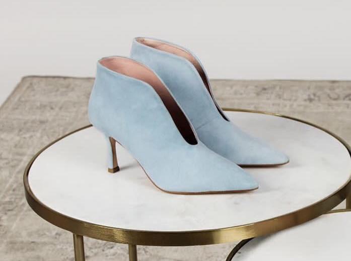 escarpin tosca blu