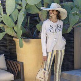 Pantalon en lin au soleil de St Tropez